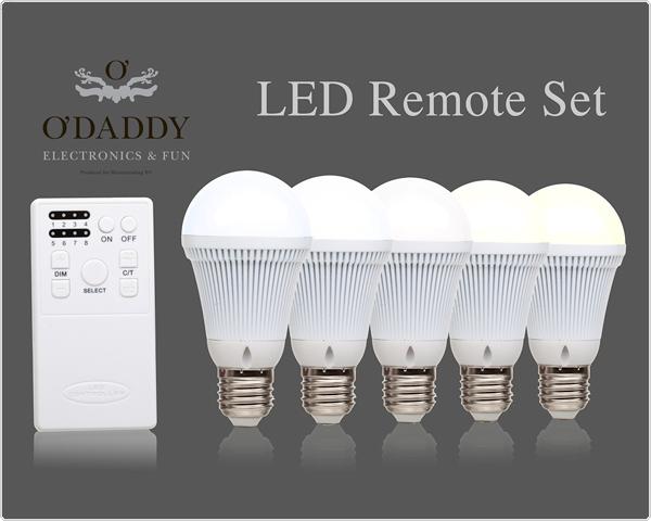O Daddy Lampen : Odaddy led âu20acu2039set: 5 lampen und fernbedienung tagesangeboten